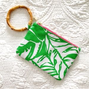 Lilly Pulitzer Tropical Clutch Purse